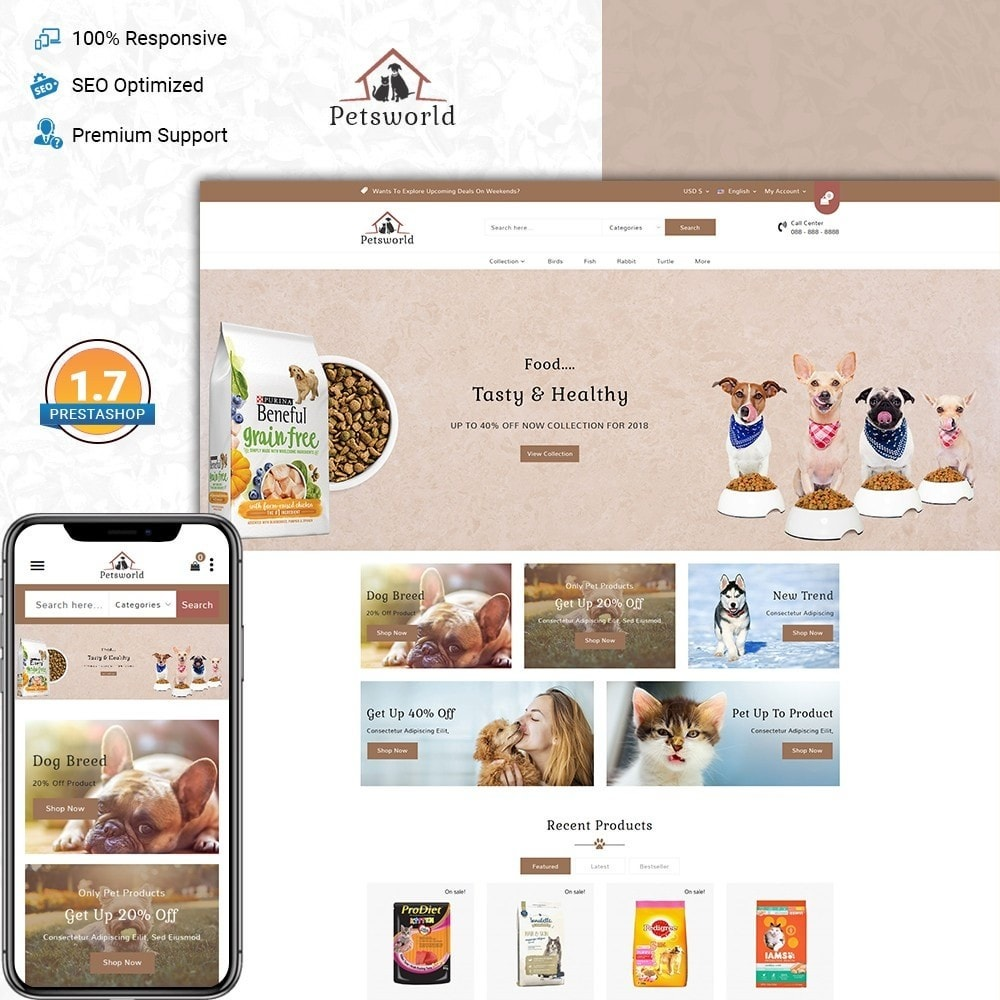 theme - Animali - Pet shop - 1