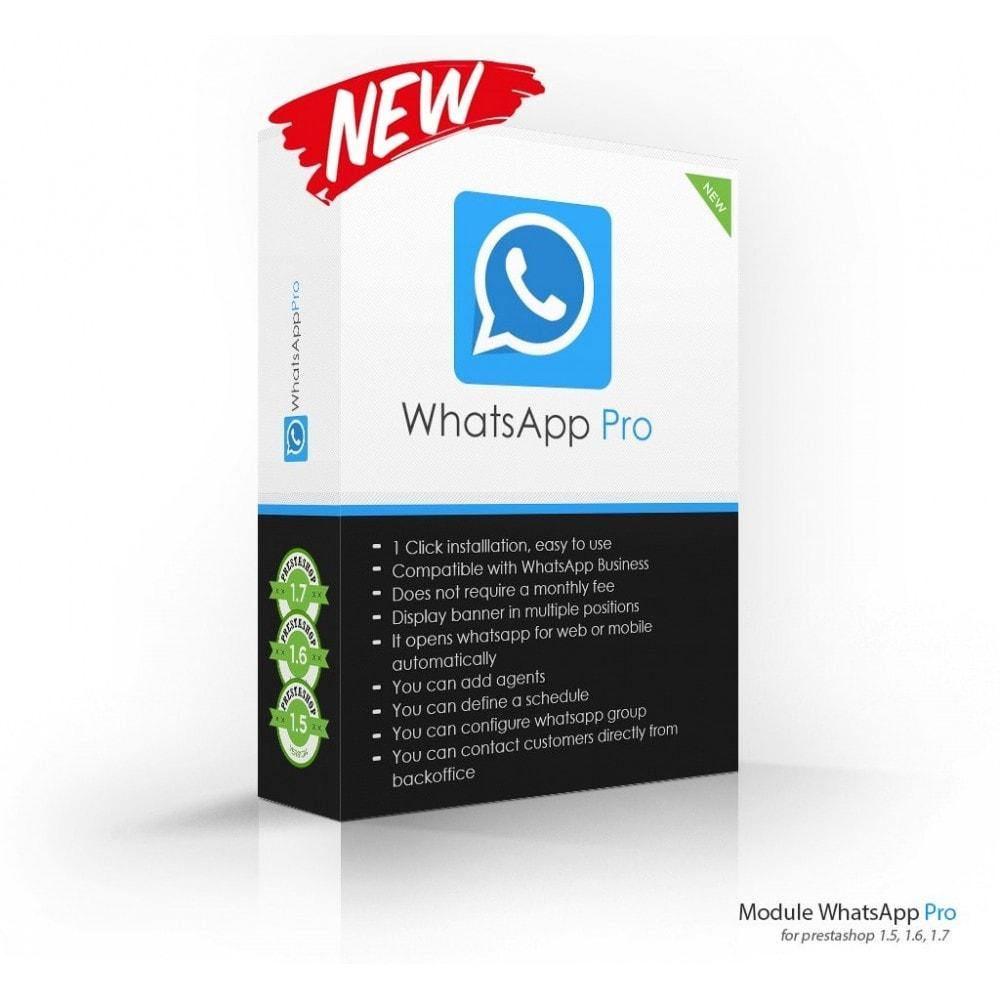 module - Wsparcie & Czat online - WhatsApp Pro, Online Visitors - 1
