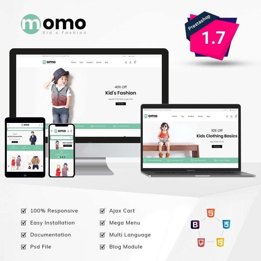 theme - Fashion & Shoes - Momo Kids Fashion Store - 1