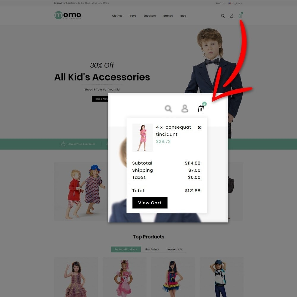 theme - Fashion & Shoes - Momo Kids Fashion Store - 6