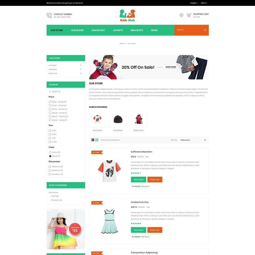 theme - Moda & Calzature - Kids Hub - The Children Fashion Store - 6