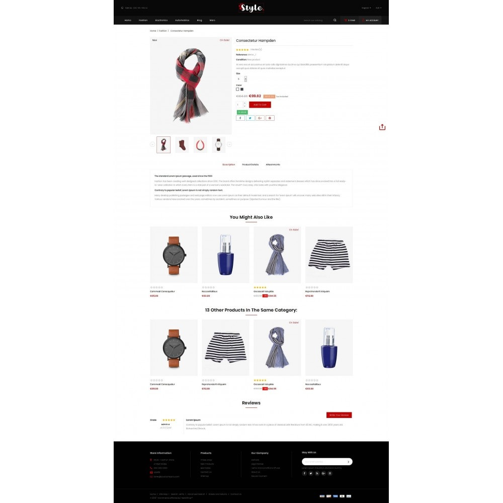 theme - Mode & Schoenen - Style Accessories Store - 5