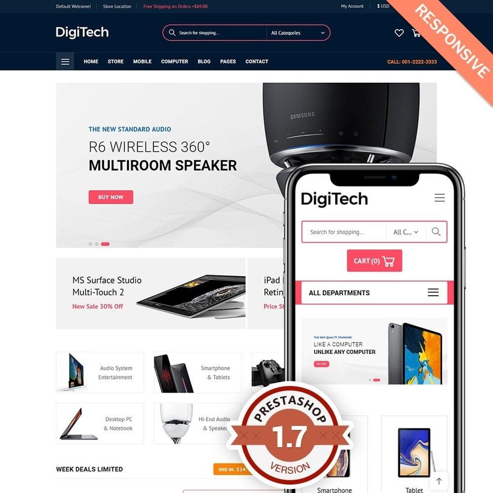 theme - Elektronika & High Tech - DigiTech - 1