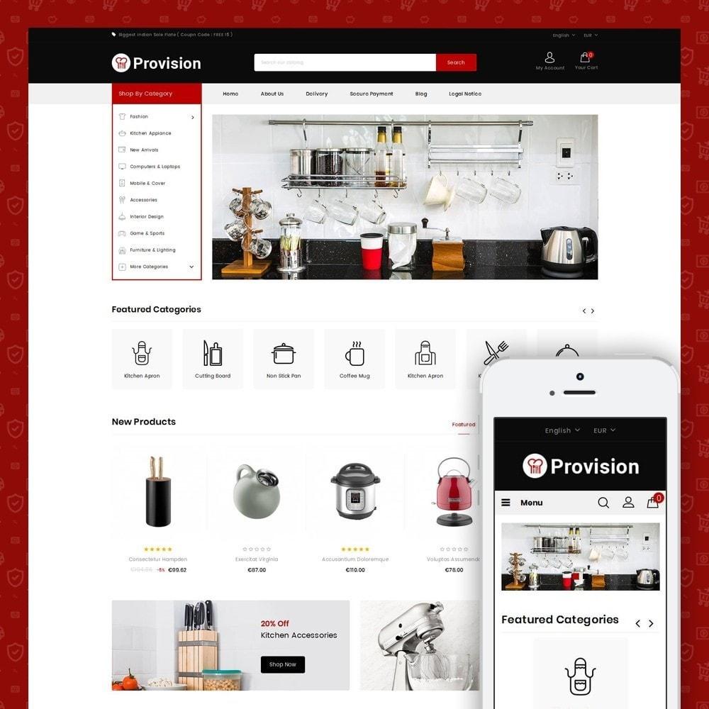 theme - Hogar y Jardín - Provision - Kitchen Store - 1