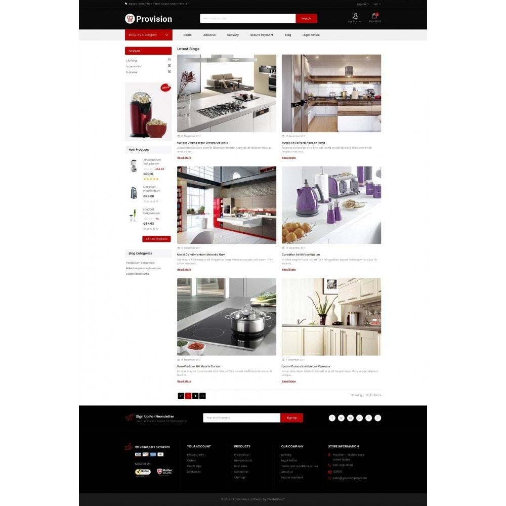 theme - Дом и сад - Provision - Kitchen Store - 9