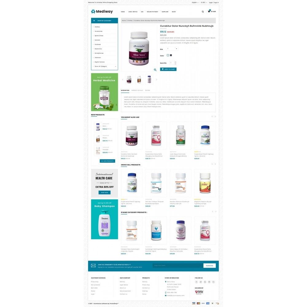 theme - Health & Beauty - Mediway - Drug Store - 4
