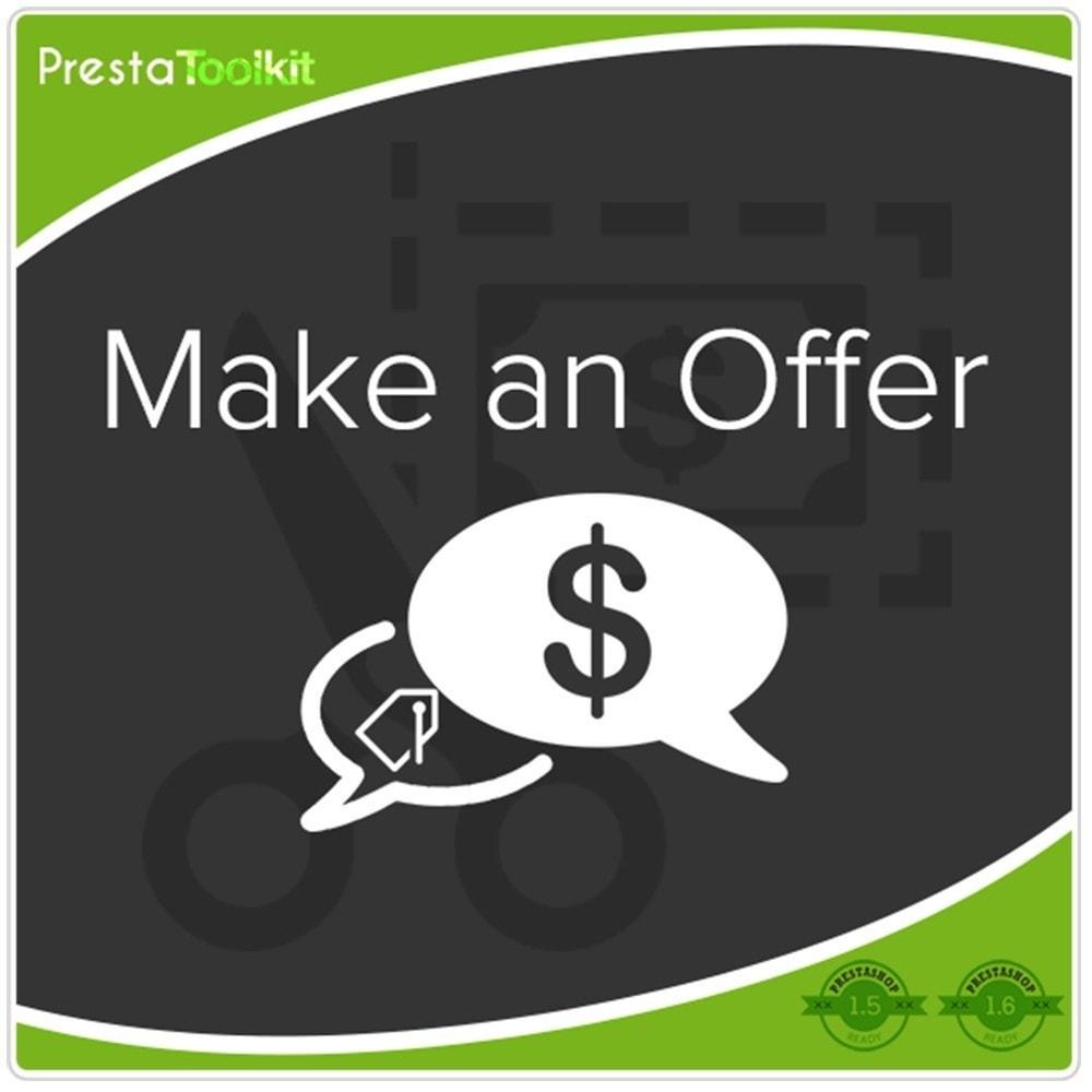 module - Управление ценами - Сделать предложение - 1