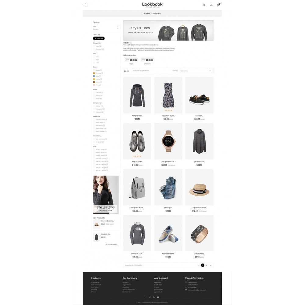 theme - Moda & Obuwie - Lookbook Fashion - 3