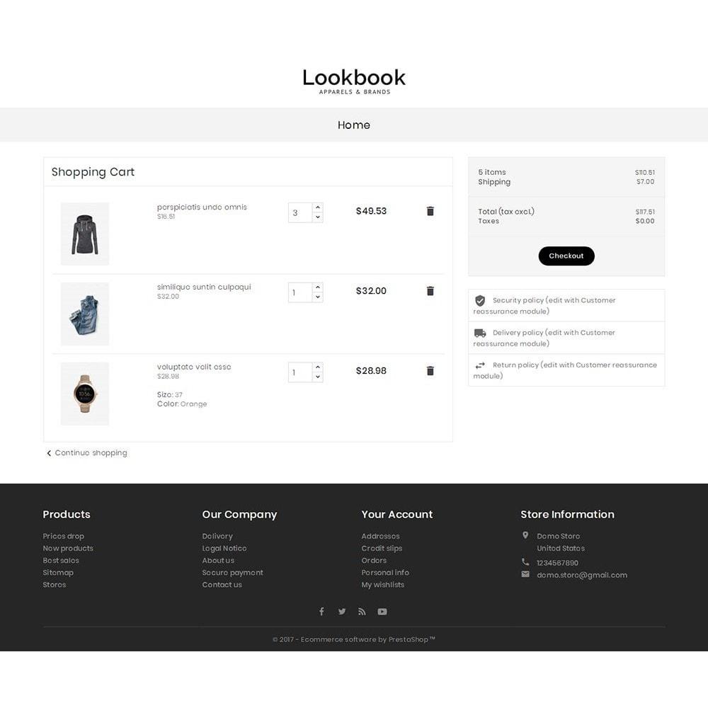 theme - Moda & Obuwie - Lookbook Fashion - 6