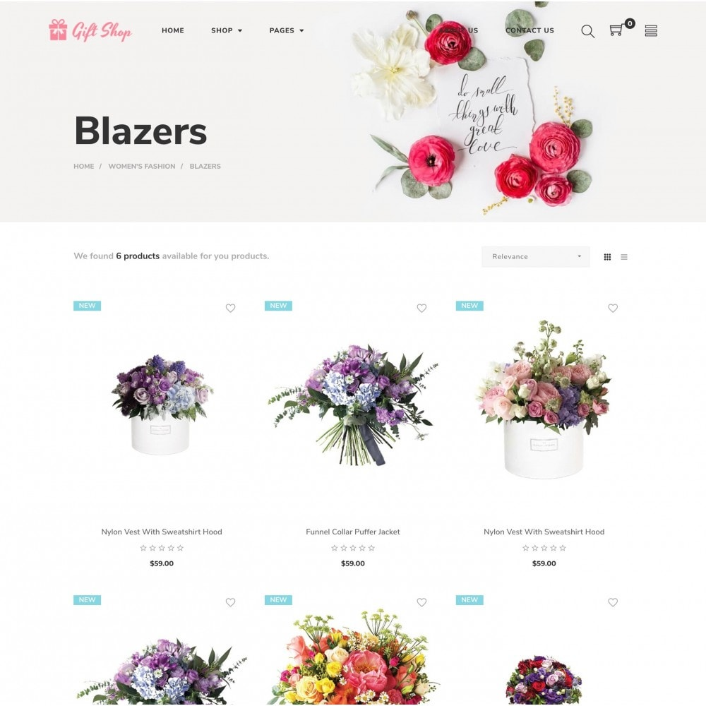 theme - Gifts, Flowers & Celebrations - Babi - Flower Shop Prestashop Theme - 2