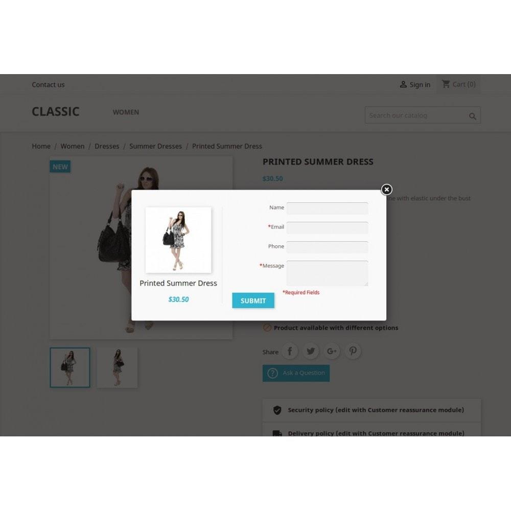 module - Formularz kontaktowy & Ankiety - Zapytanie o produkt, oferta produktowa - 11