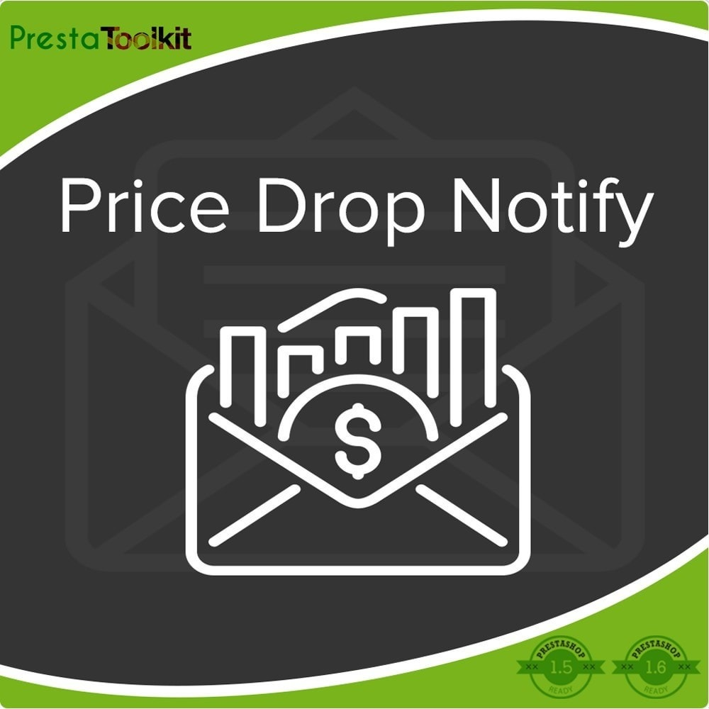 module - E-mails y Notificaciones - Notificación de caída de precios, alertas de productos - 1