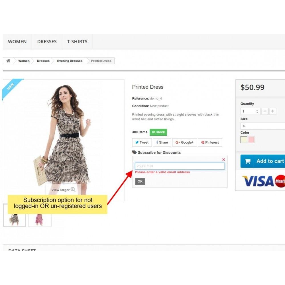 module - E-mails y Notificaciones - Notificación de caída de precios, alertas de productos - 6