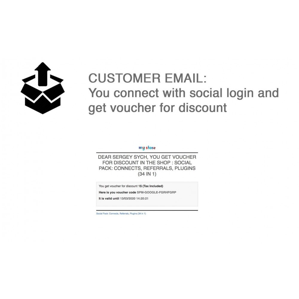 module - Social Login & Connect - Social Pack: Connects, Referrals, Plugins (34 in 1) - 6
