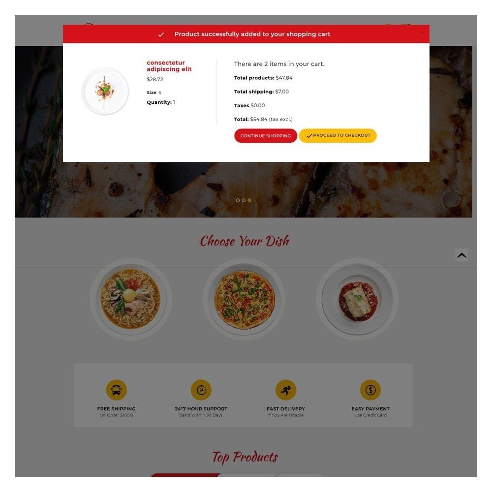 theme - Żywność & Restauracje - Delicious Food & Restaurant Store - 6