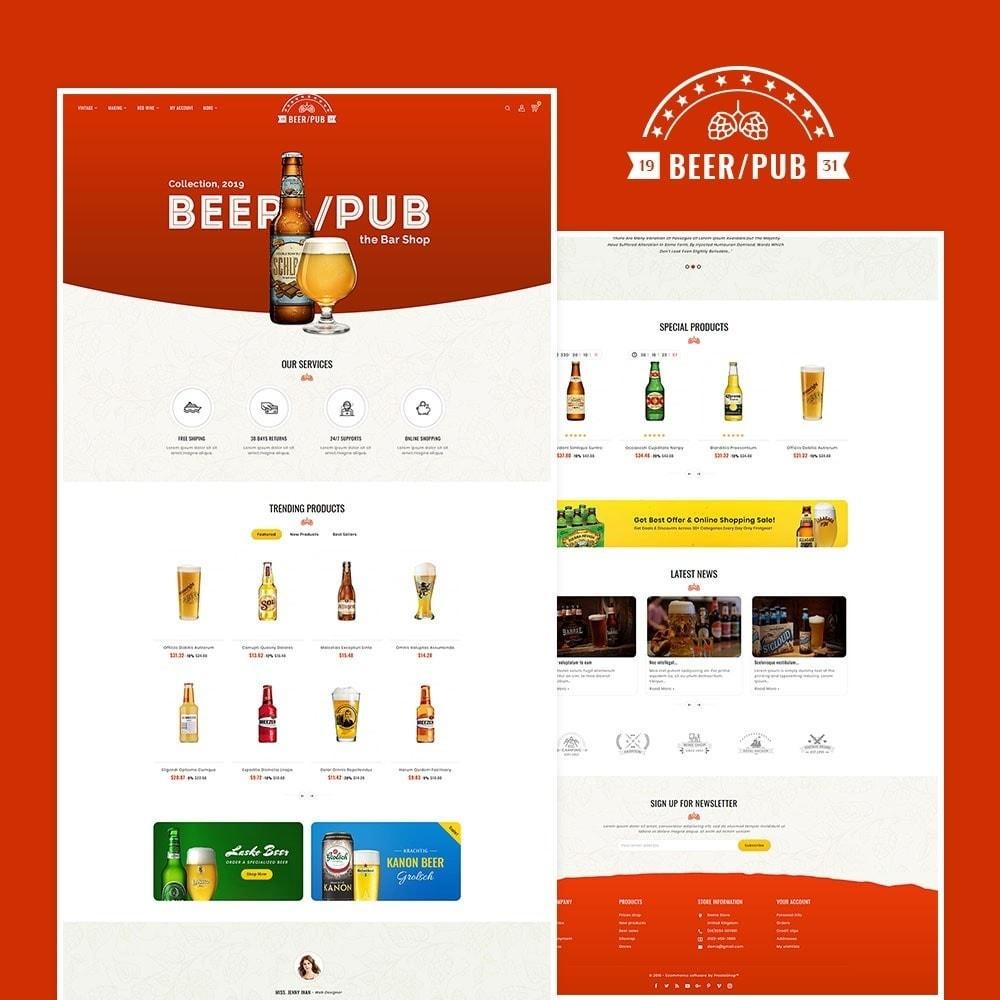 theme - Drink & Wine - Beer Pub & Drinks - 2