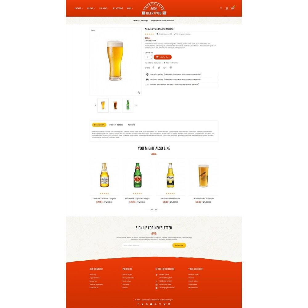 theme - Drink & Wine - Beer Pub & Drinks - 5