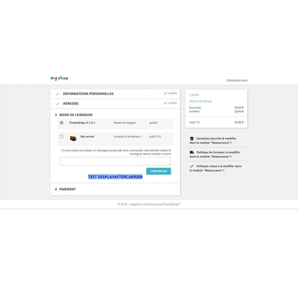 module - Outils d'administration - Bloc de contenu libre (CMS) multi-points d'accroche - 9