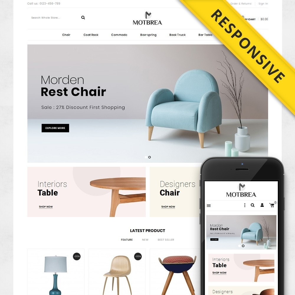 theme - Casa & Giardino - Motbrea - Furniture Shop - 1