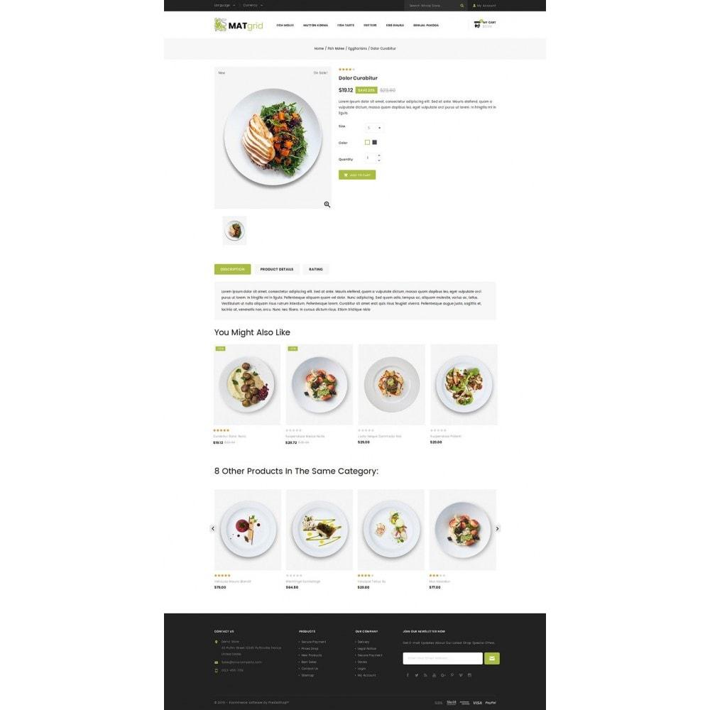 theme - Alimentos & Restaurantes - Matgrid - Restaurants Store - 4