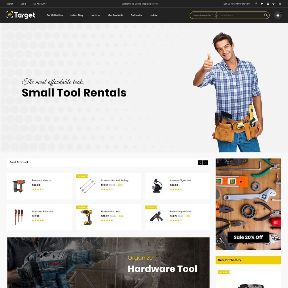 theme - Auto & Moto - Target - Le magasin d'outils - 3