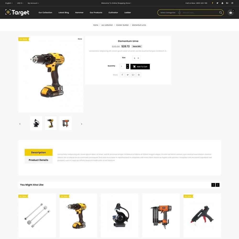 theme - Auto & Moto - Target - Le magasin d'outils - 7