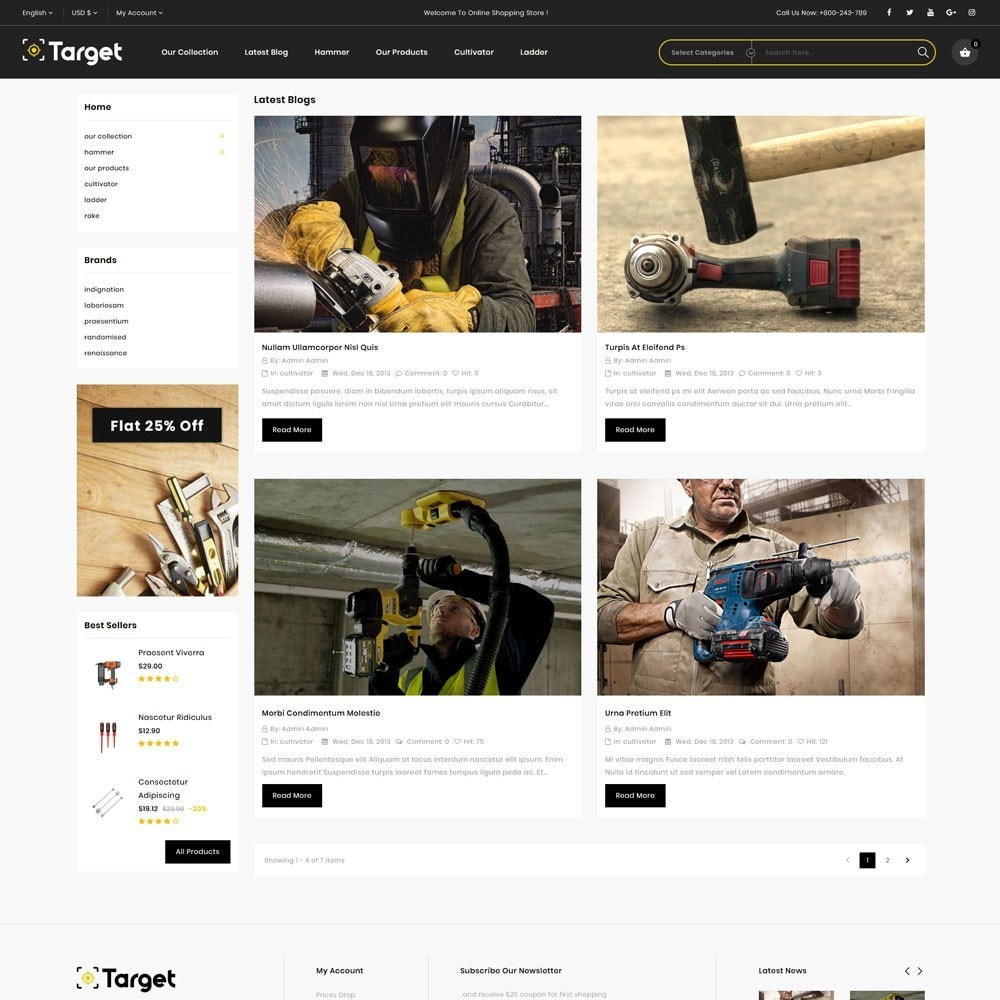 theme - Auto & Moto - Target - Le magasin d'outils - 8