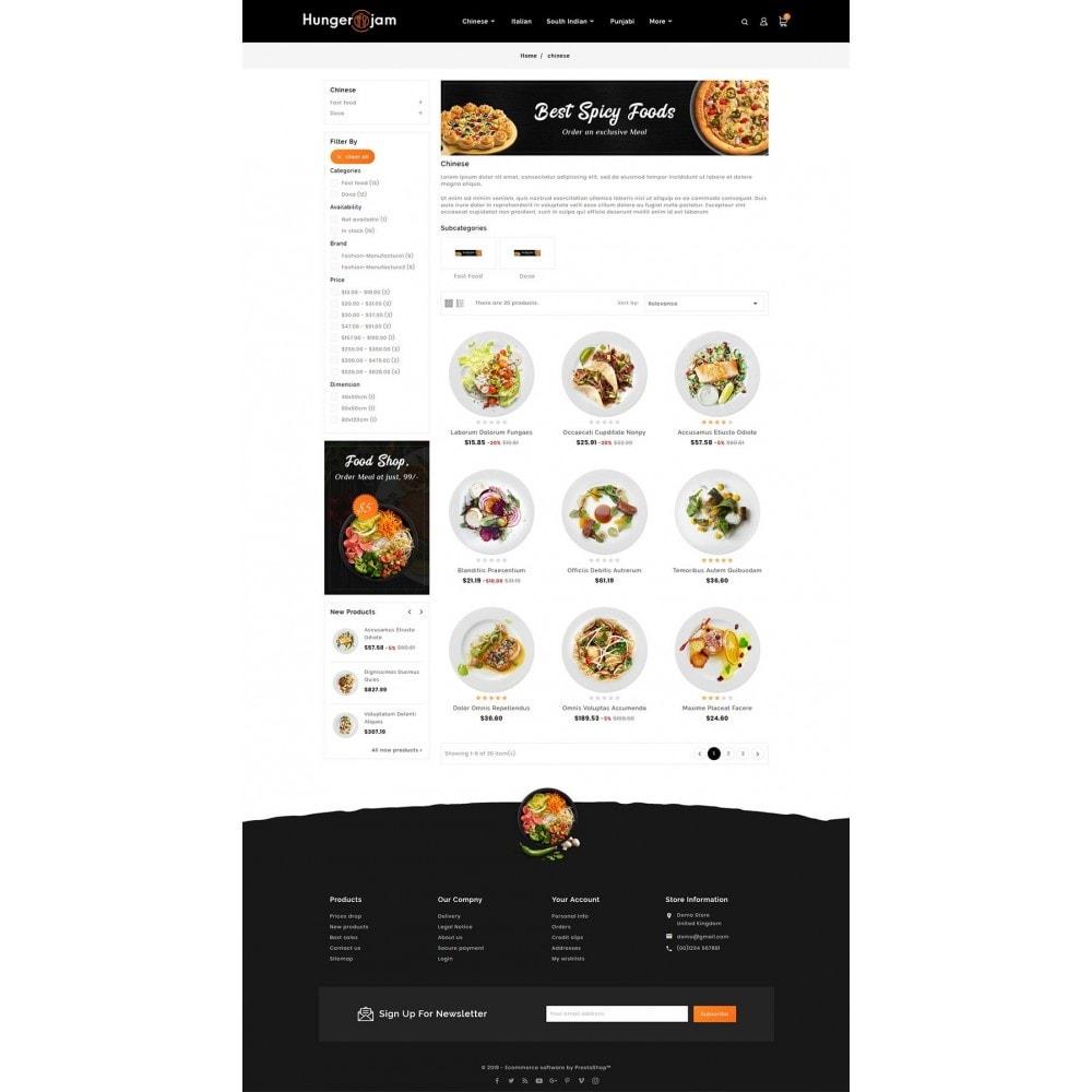 theme - Alimentos & Restaurantes - Hunger Jam - Food & Dishes - 3