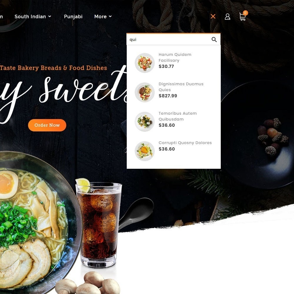theme - Gastronomía y Restauración - Hunger Jam - Food & Dishes - 10