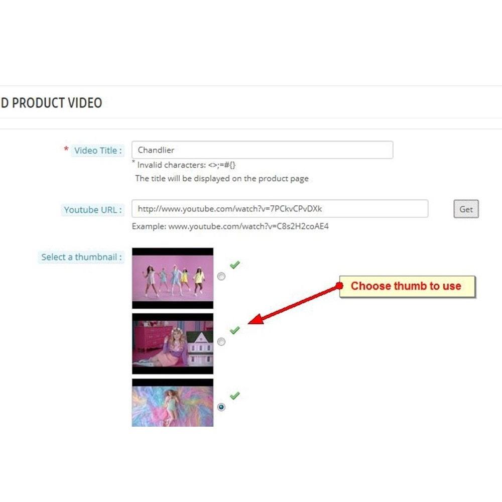 module - Vídeos & Música - Vídeos do produto do YouTube - 4
