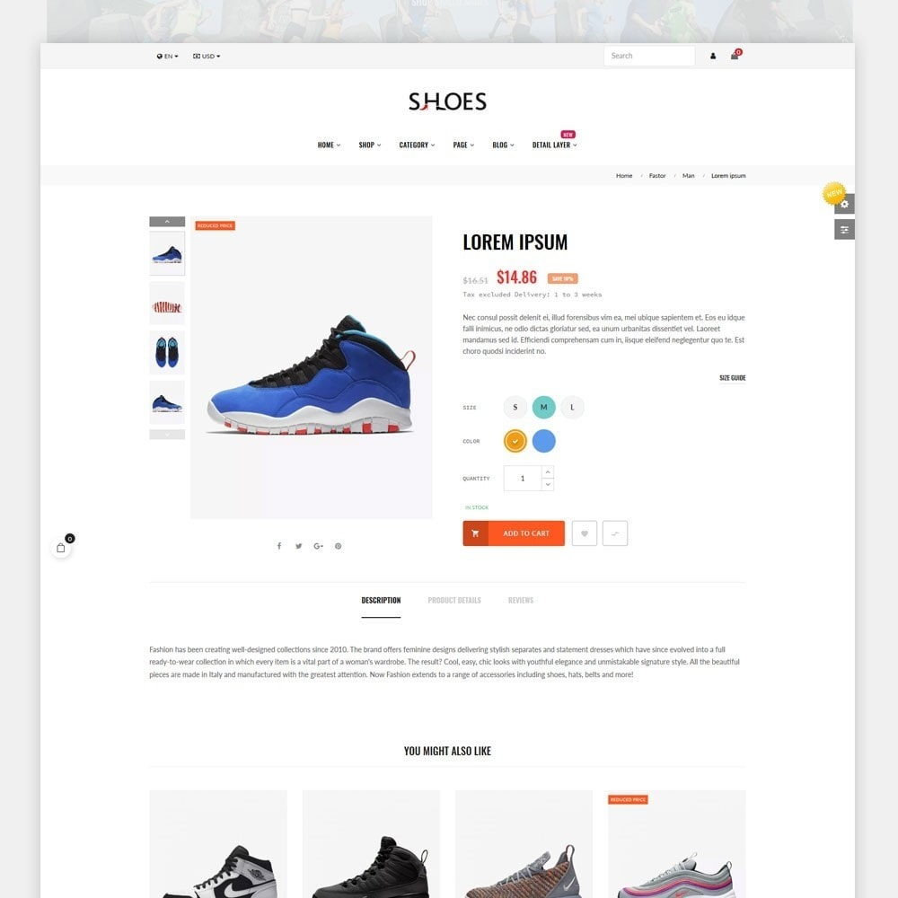 theme - Mode & Chaussures - Shoes World Fashion Store - 3