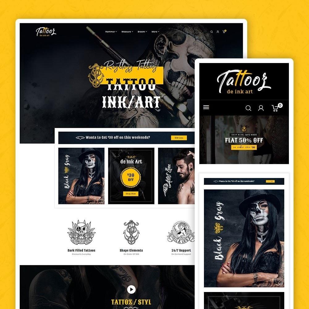 theme - Art & Culture - Tattooz - Ink Art & Machines - 1