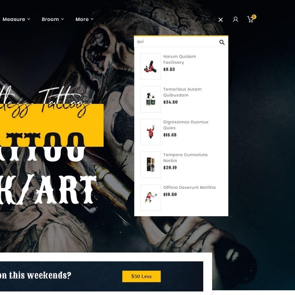theme - Art & Culture - Tattooz - Ink Art & Machines - 10
