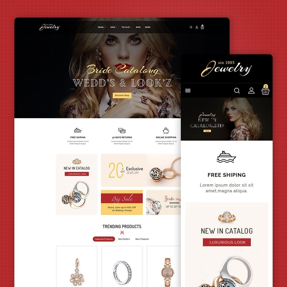 theme - Jewelry & Accessories - Jewelry - Luxury Imitation Shop - 1