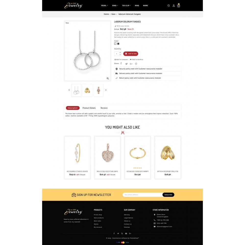 theme - Jewelry & Accessories - Jewelry - Luxury Imitation Shop - 5