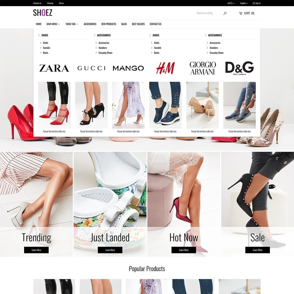 theme - Mode & Schoenen - Shoez - Fashion and shoes - 3