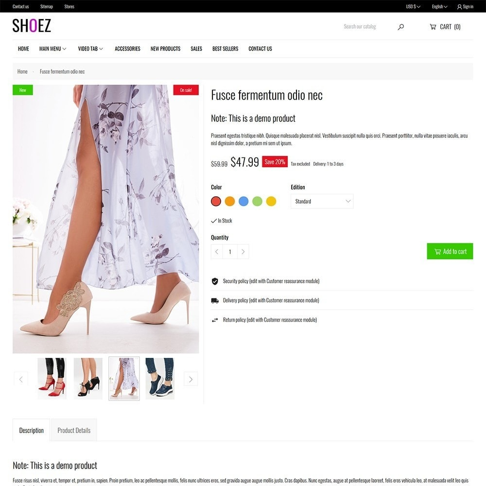 theme - Mode & Schoenen - Shoez - Fashion and shoes - 7