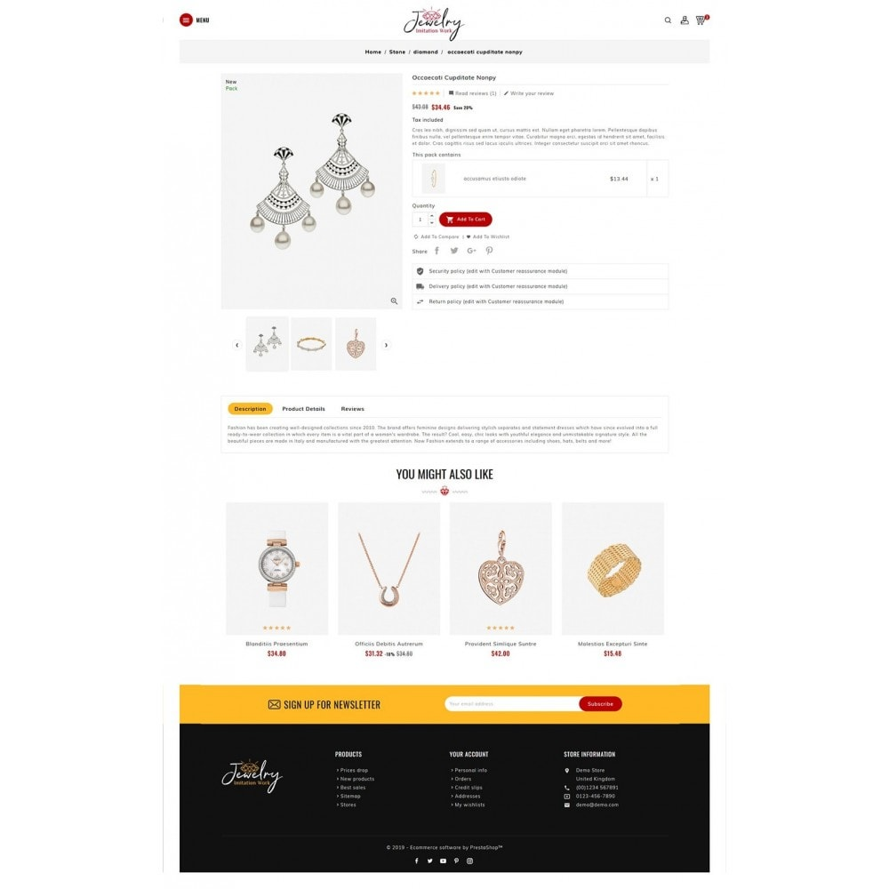 theme - Bijoux & Accessoires - Jewelry - Imitation Work - 5