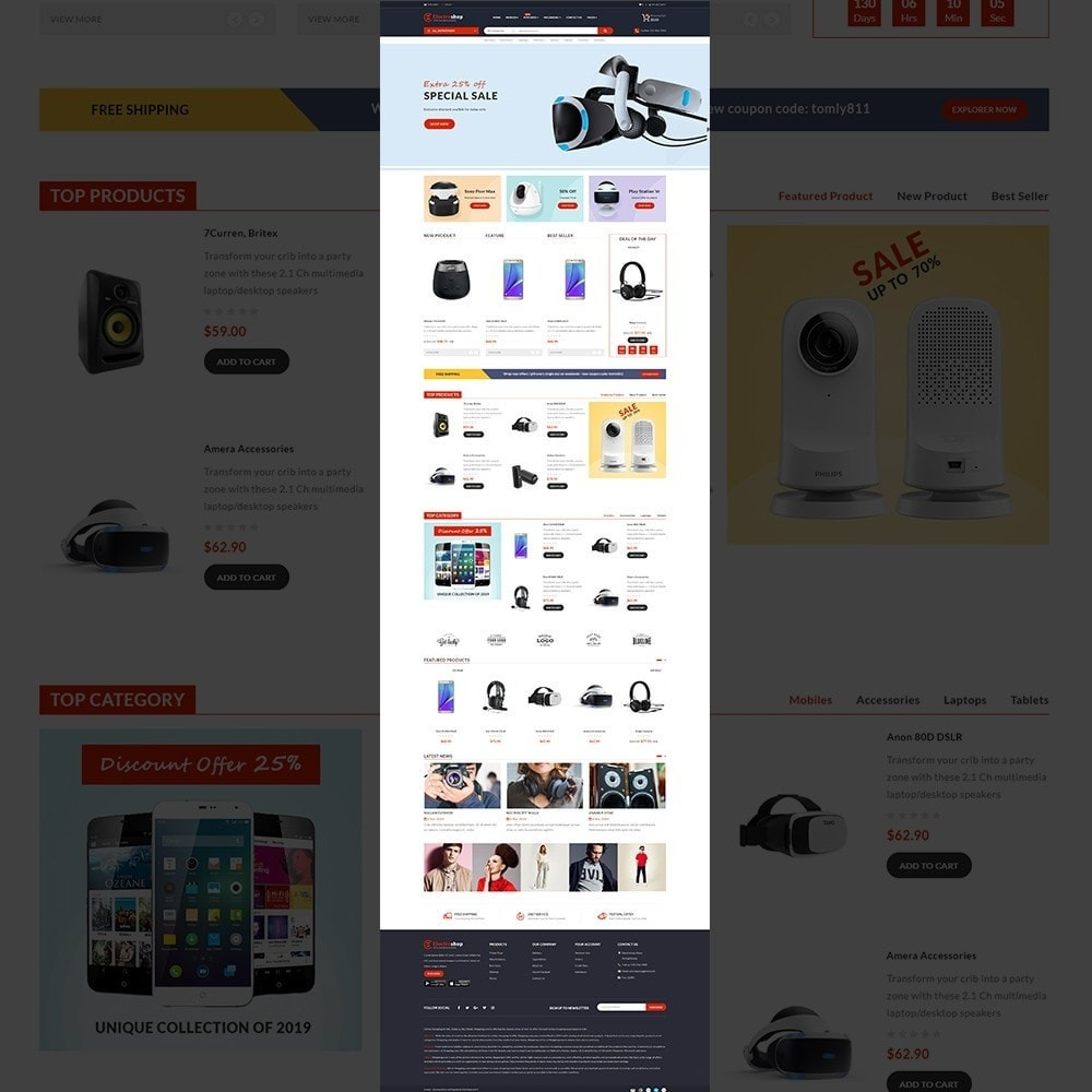 theme - Electronics & Computers - Electroshop - Multipurpose Mega Electronics Store - 11