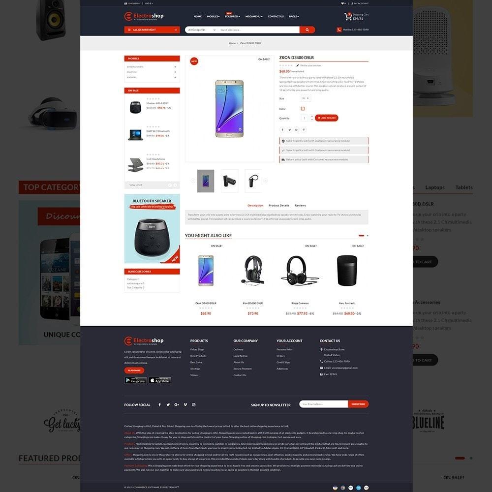 theme - Electronics & Computers - Electroshop - Multipurpose Mega Electronics Store - 14
