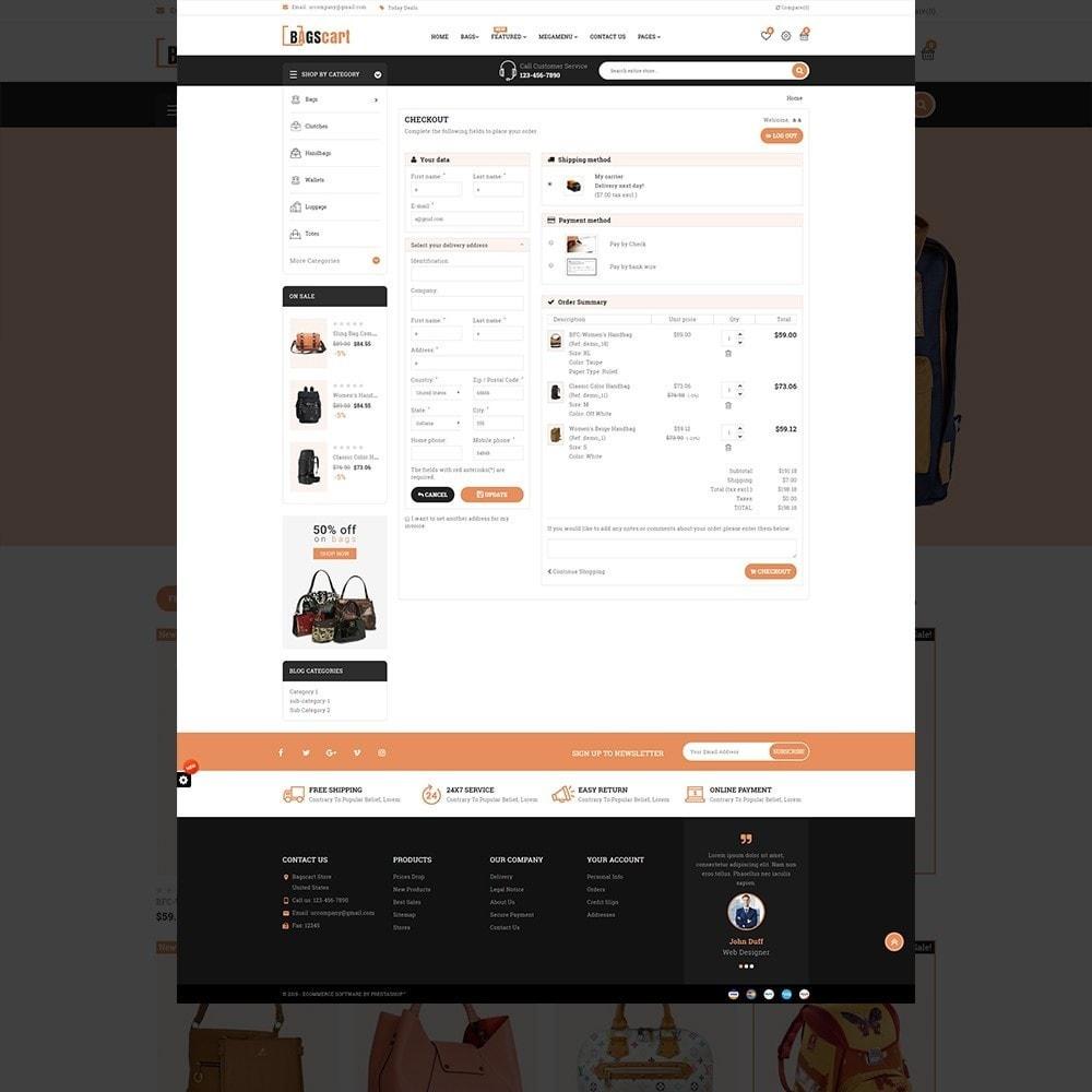 theme - Fashion & Shoes - Bagscart - Multiporpose Mega Bag Store - 12