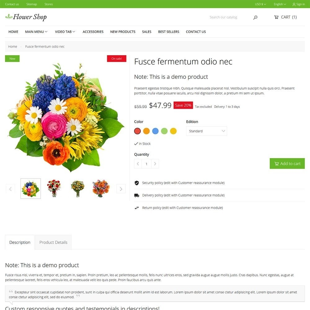 theme - Cadeaus, Bloemen & Gelegenheden - Flower Shop - 6