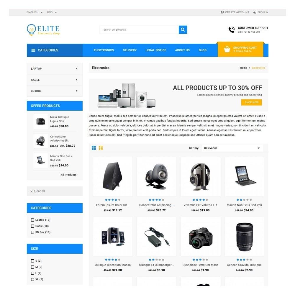 theme - Electronics & Computers - Elite Electronics Shop - 3