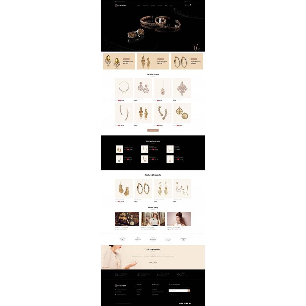 theme - Ювелирные изделия и Аксессуары - Ornament Jewelery Store - 2