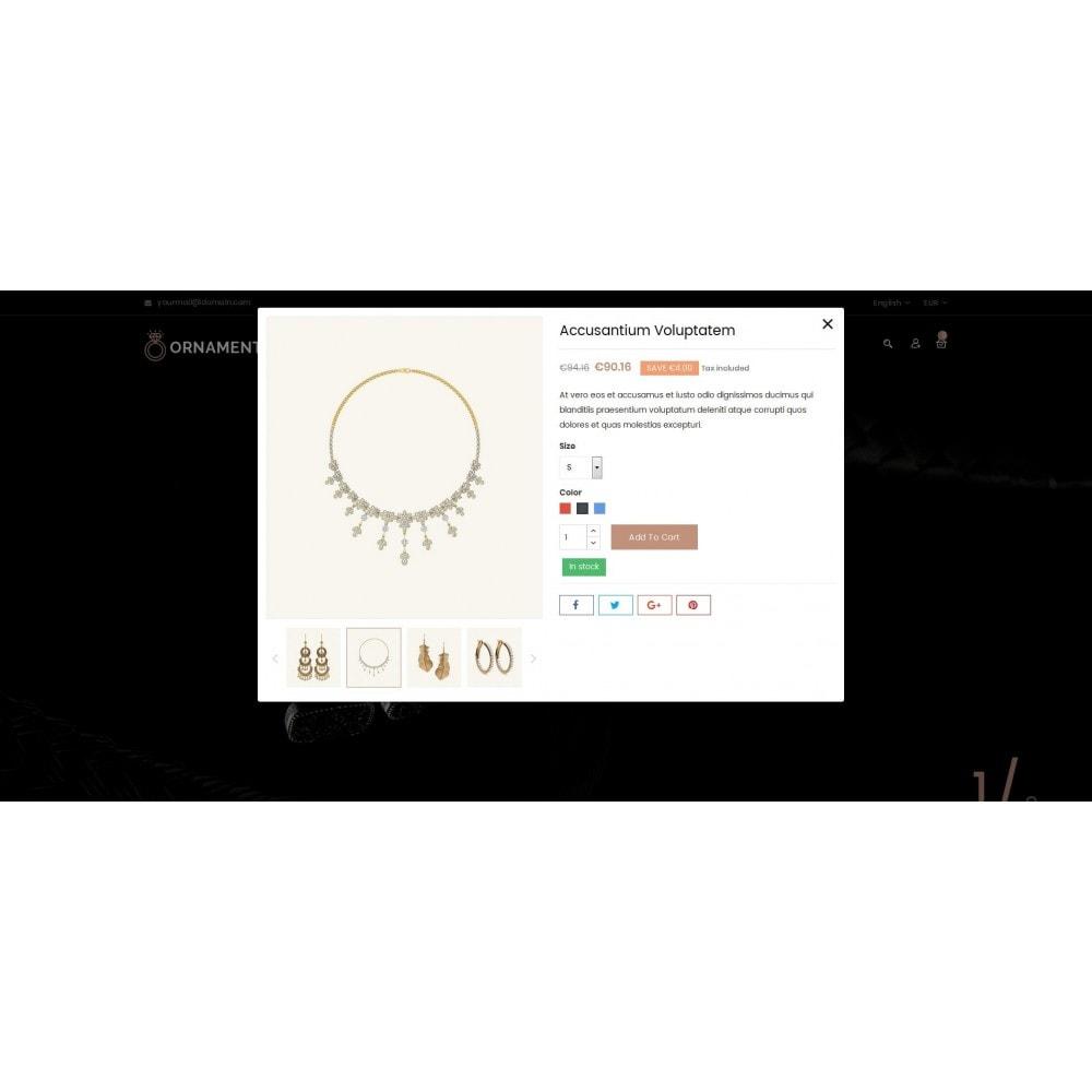 theme - Ювелирные изделия и Аксессуары - Ornament Jewelery Store - 8