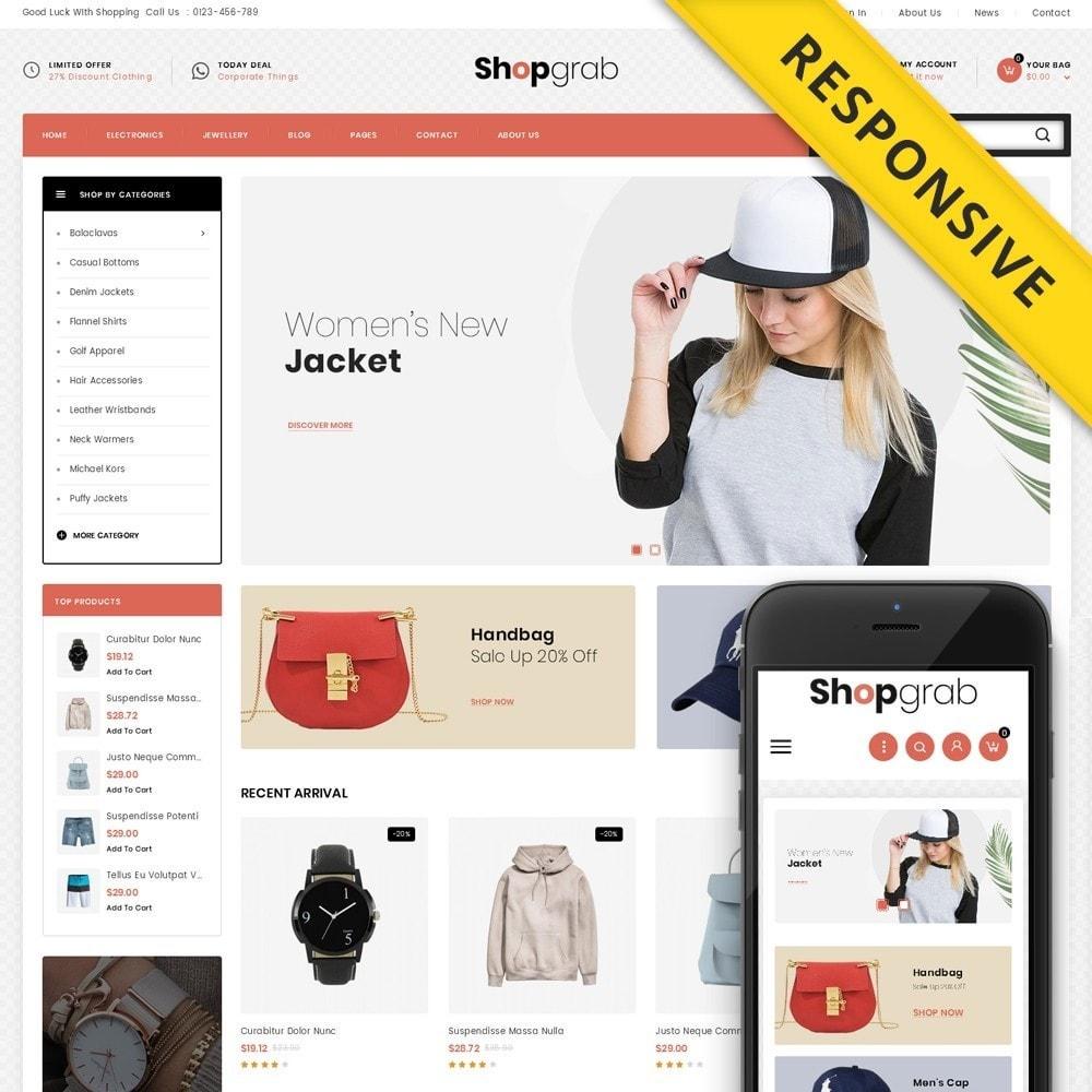 theme - Fashion & Shoes - Shopgrab - Multipurpose Store - 1