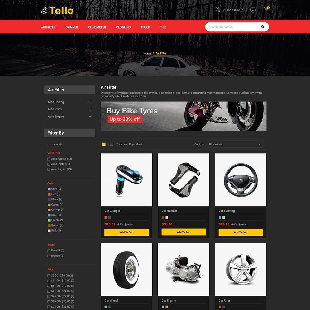 theme - Automotive & Cars - Tello Auto - Car Black Dark - 5