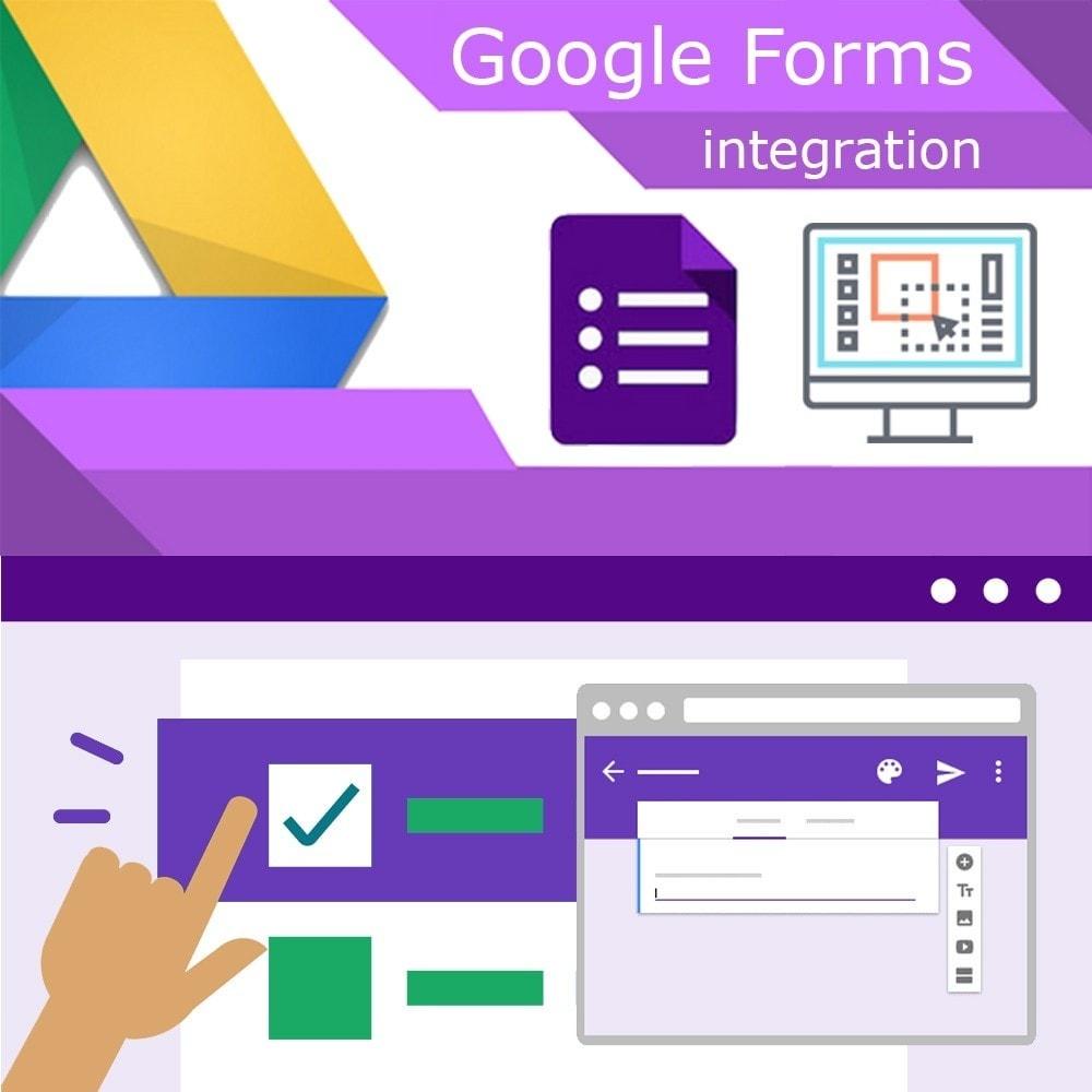 module - Форма обратной связи и Опросы - Google Forms Integration - 1