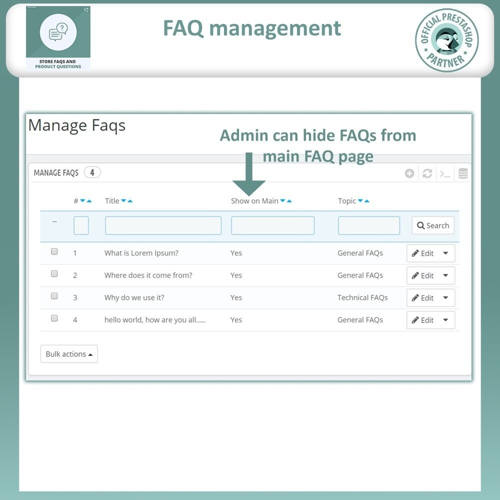 bundle - FAQ (Frequently Asked Questions) - Content Management Pack - 11