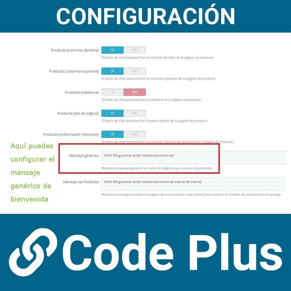 module - Asistencia & Chat online - Chatea con tus clientes a través del chat de What's App - 8